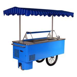 Mobilní distributory zmrzliny